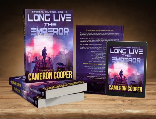 New Space Opera from Cameron Cooper!